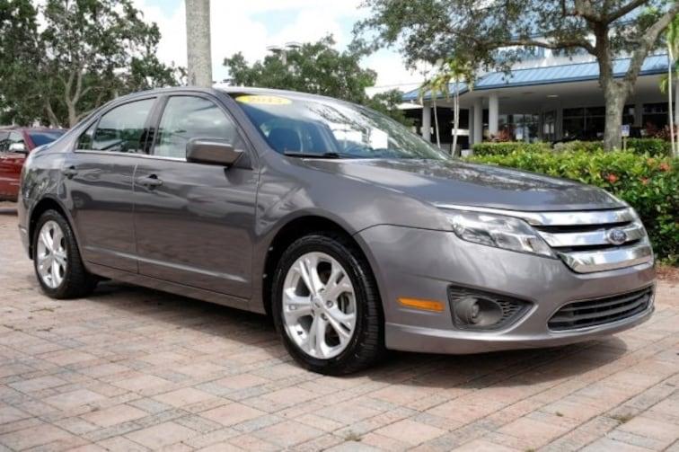 Used 2012 Ford Fusion SE Sedan for sale near Fort Lauderdale, FL at Coconut Creek Subaru