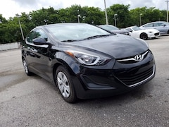 Used cars 2016 Hyundai Elantra SE Sedan H782051 for sale in Coconut Creek, FL at Coconut Creek Subaru