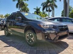 Certified Pre-Owned 2019 Subaru Crosstrek 2.0i Premium SUV JF2GTAEC7KH240618 for Sale near Fort Lauderdale