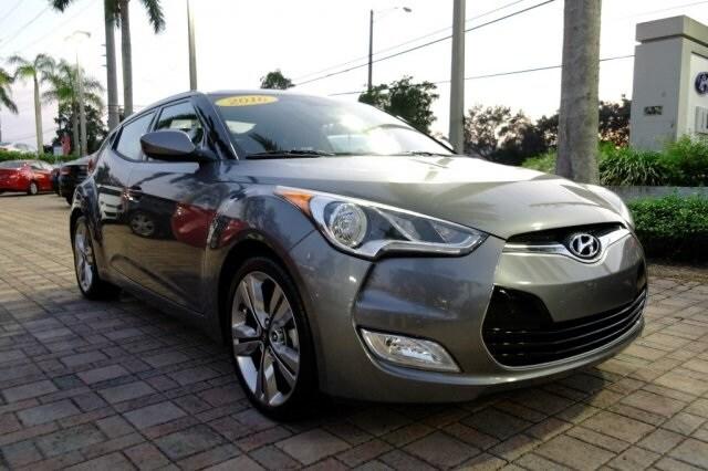 2016 Hyundai Veloster Base Hatchback for sale near Fort Lauderdale, FL