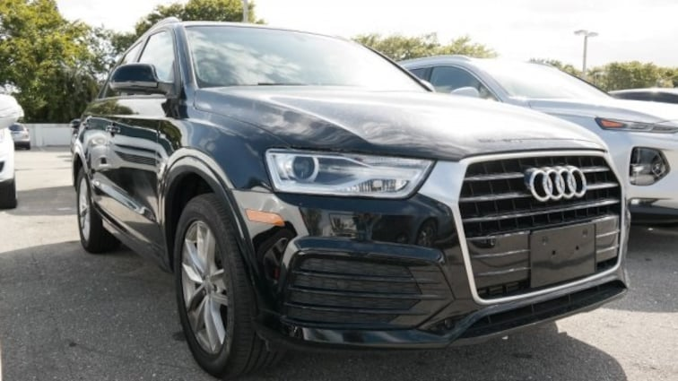 Used 2018 Audi Q3 2.0T Premium SUV for sale near Fort Lauderdale, FL at Coconut Creek Subaru