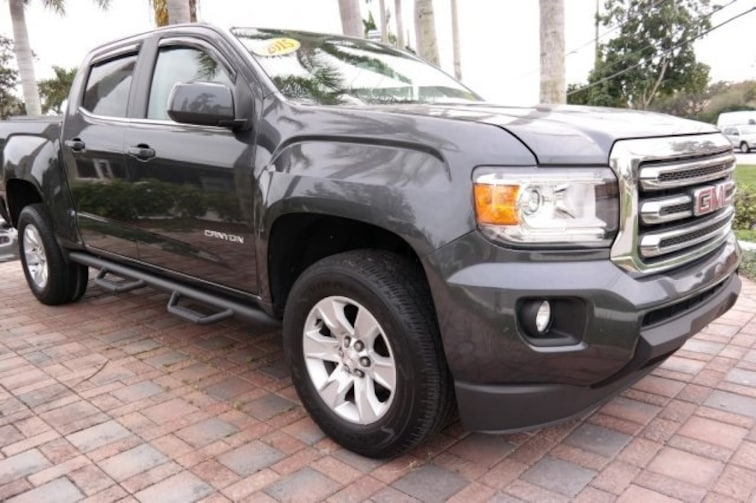 Used 2015 GMC Canyon SLE1 Truck for sale near Fort Lauderdale, FL at Coconut Creek Subaru