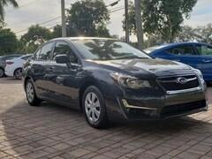 Used cars 2016 Subaru Impreza 2.0i Sedan S021151A for sale in Coconut Creek, FL at Coconut Creek Subaru