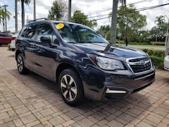 Certified Pre-Owned 2017 Subaru Forester 2.5i Premium SUV JF2SJAEC3HH405864 for Sale near Fort Lauderdale