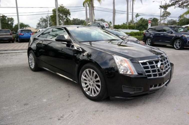Used 2014 Cadillac CTS Base Coupe for sale near Fort Lauderdale, FL at Coconut Creek Subaru