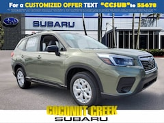 New 2021 Subaru Forester Base Trim Level SUV for Sale in Coconut Creek, FL