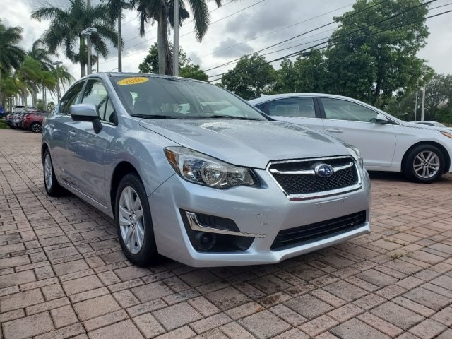 2016 Subaru Impreza 2.0i Premium Sedan for sale near Fort Lauderdale, FL