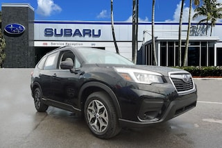 New Subaru 2020 Subaru Forester Premium SUV for sale at Coconut Creek Subaru in Coconut Creek, FL