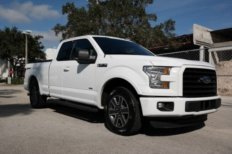 Used 2016 Ford F-150 XLT Truck for sale near Fort Lauderdale, FL at Coconut Creek Subaru