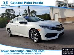 2017 Honda Civic Sedan LX LX CVT