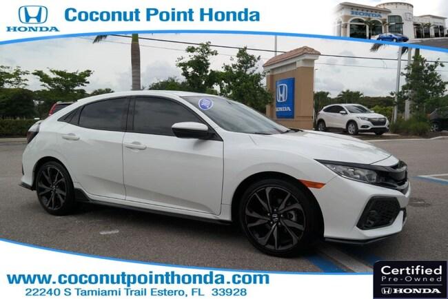 2018 Honda Civic Hatchback Sport Sport Manual