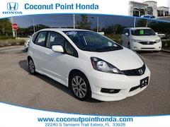 2012 Honda Fit Sport HB Auto Sport