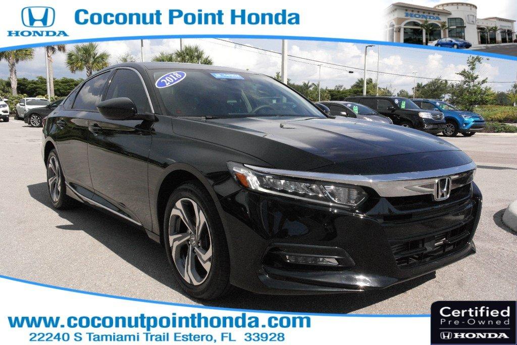 2018 Honda Accord Sedan EX EX 1.5T CVT