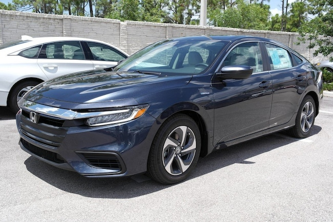 New 2019 Honda Insight LX Sedan For Sale in Estero FL With Blue Exterior And AUTO Transmission