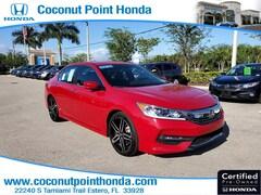 2017 Honda Accord Sedan Sport Sport CVT