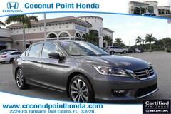 2015 Honda Accord Sedan Sport I4 CVT Sport