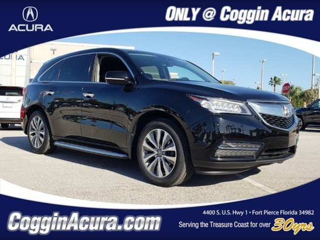2016 Acura MDX MDX with Technology and AcuraWatch Plus Packages SUV