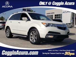 2011 Acura MDX MDX with Advance and Entertainment Packages SUV
