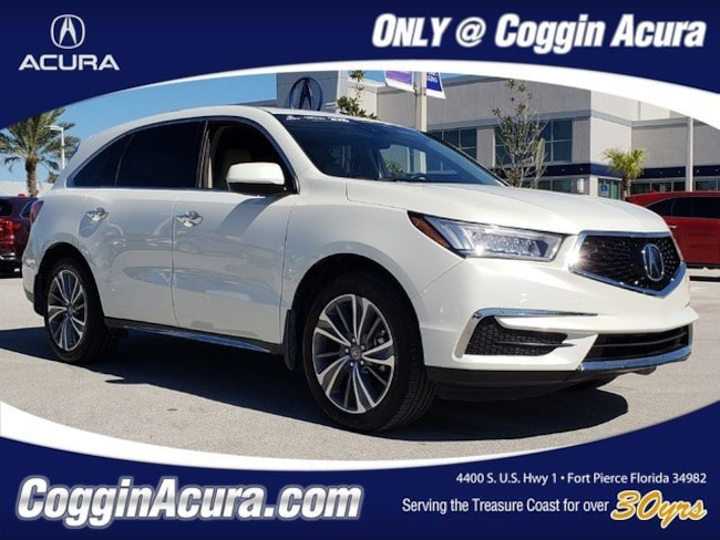 2018 Acura MDX V6 with Technology Package SUV