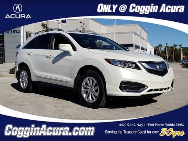2017 Acura RDX V6 with Technology Package and AcuraWatch Plus SUV