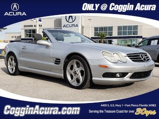 Used 2004 Mercedes-Benz SL-Class Base Convertible
