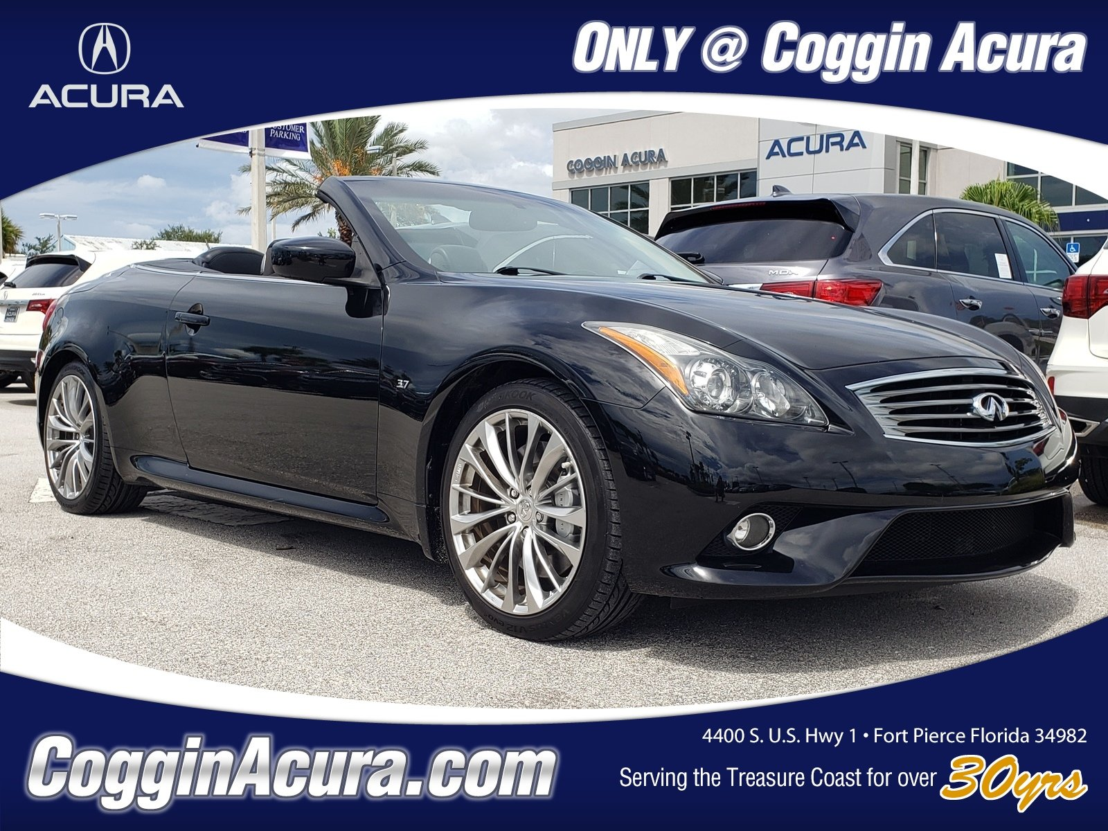 2015 INFINITI Q60 3.7 with Navigation Package Convertible