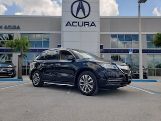2016 Acura MDX 3.5L w/Technology Package & AcuraWatch Plus Pkgs SUV