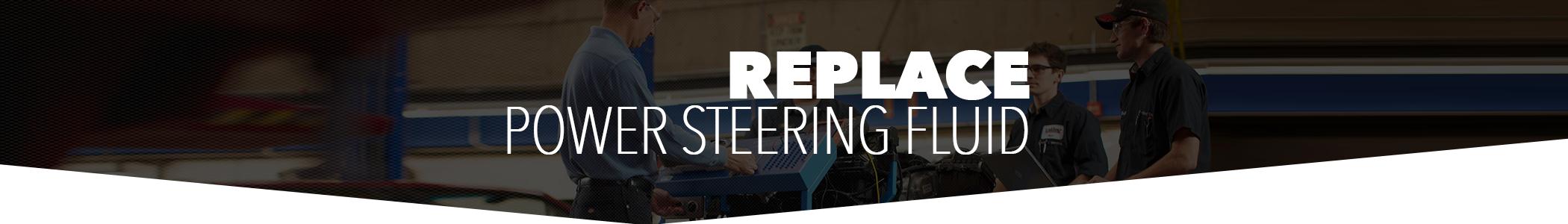 Replace GM Power Steering Fluid in Jacksonville, FL | Coggin