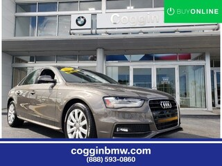 Used 2015 Audi A4 2.0T Premium (Multitronic) Sedan