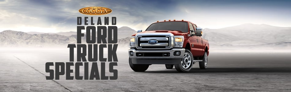 Highlighted Ford Truck Offers