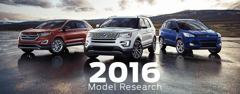 Ford Model Research & Comparisons