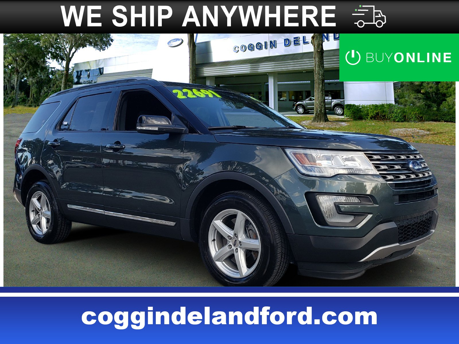 2016 Ford Explorer XLT SUV