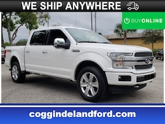 2019 Ford F-150 Platinum Platinum 4WD SuperCrew 5.5 Box