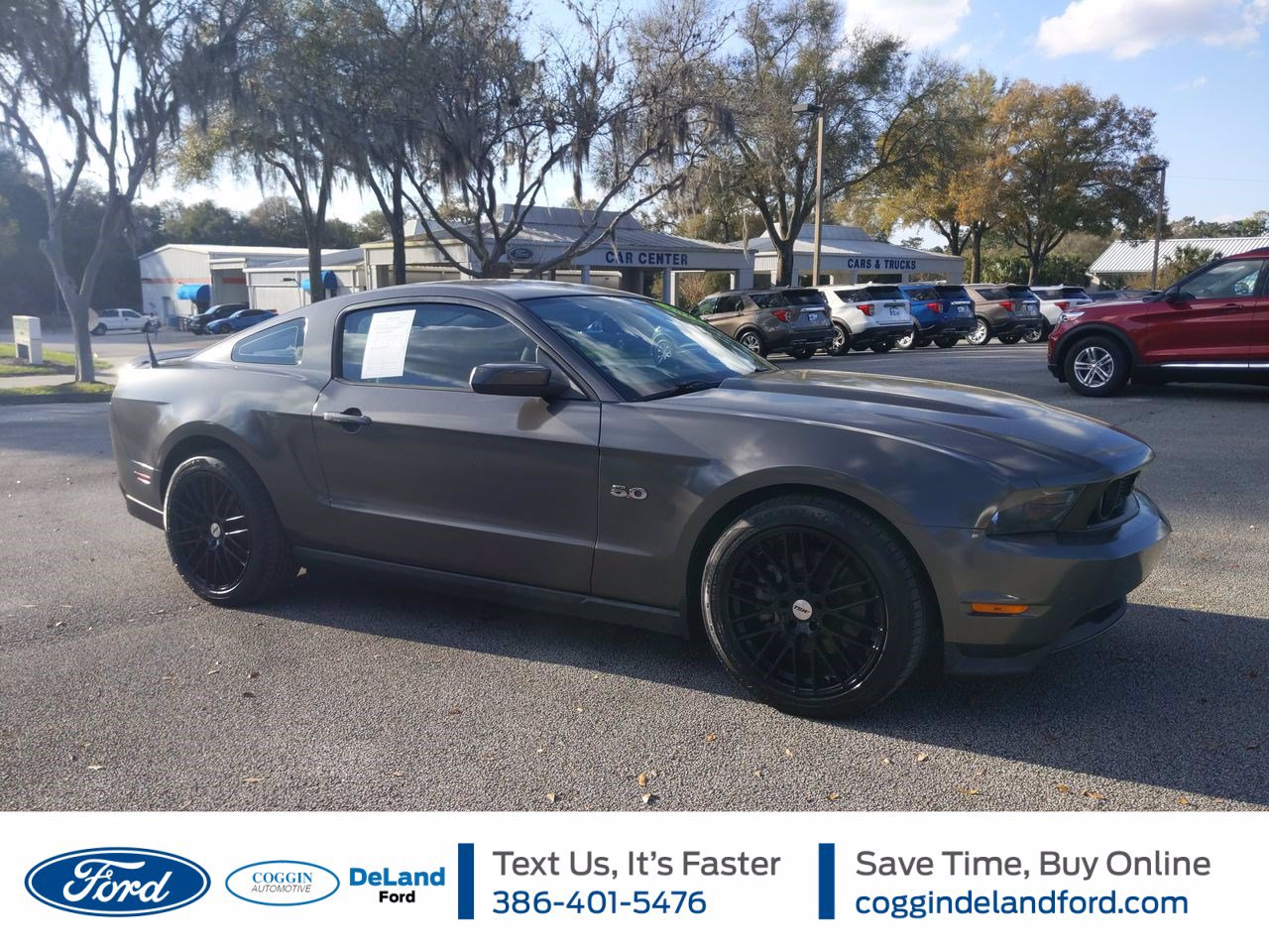 Used Ford Mustang Orange City Fl