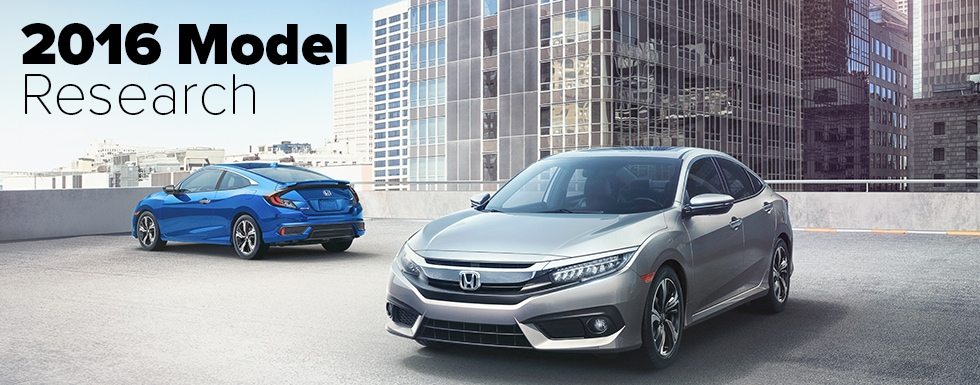 Honda Model Info and  Comparisons