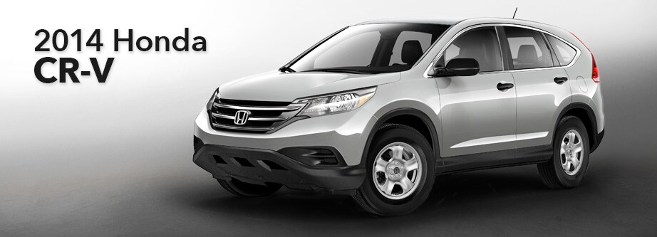 Perfect 2014 Honda CR V