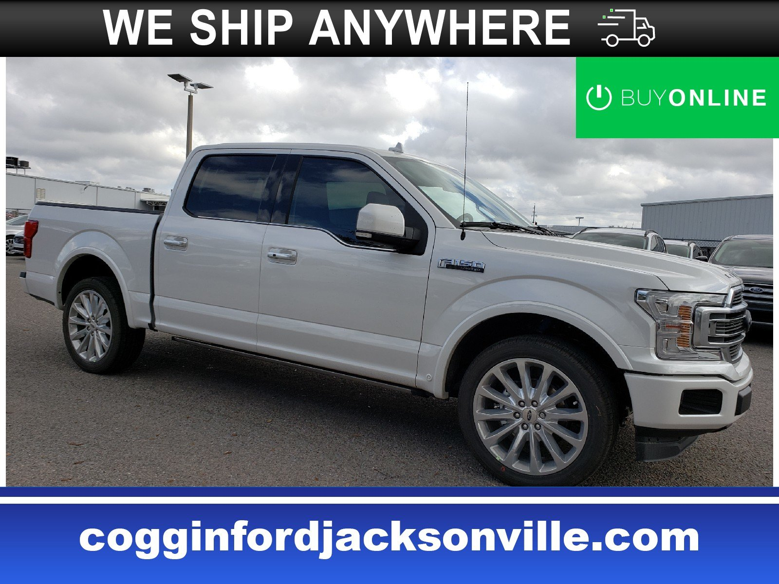 2019 Ford F-150 Limited 2WD SuperCrew 5.5 Box