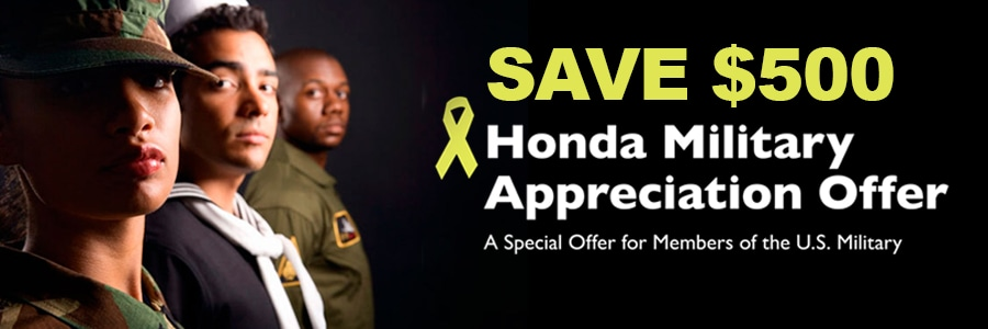 Honda Military Program in Fort Pierce
