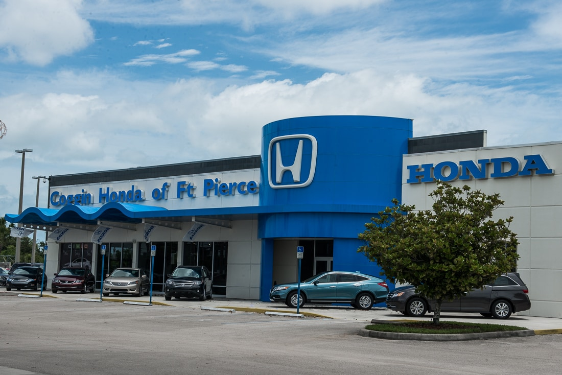 Coggin Honda Ft. Pierce Directions