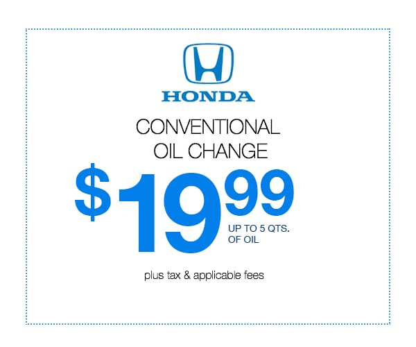 Oil Change Special >> Oil Change Special Just For You Come See Us Today Coggin Honda