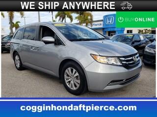 2017 Honda Odyssey SE Van