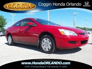 2003 Honda Accord 2.4 LX Coupe