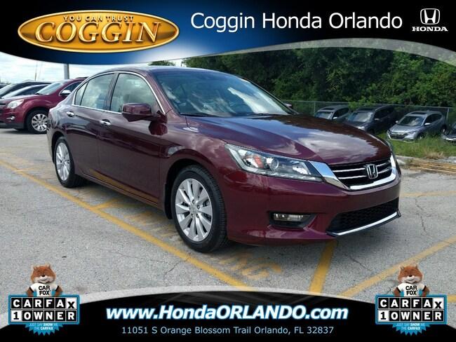 2014 Honda Accord EX-L V-6 w/Navigation Sedan