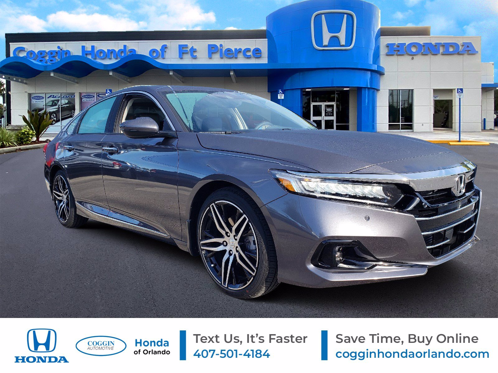 New 2021 Honda Accord For Sale At Coggin Honda Of Orlando Vin 1hgcv2f90ma004471