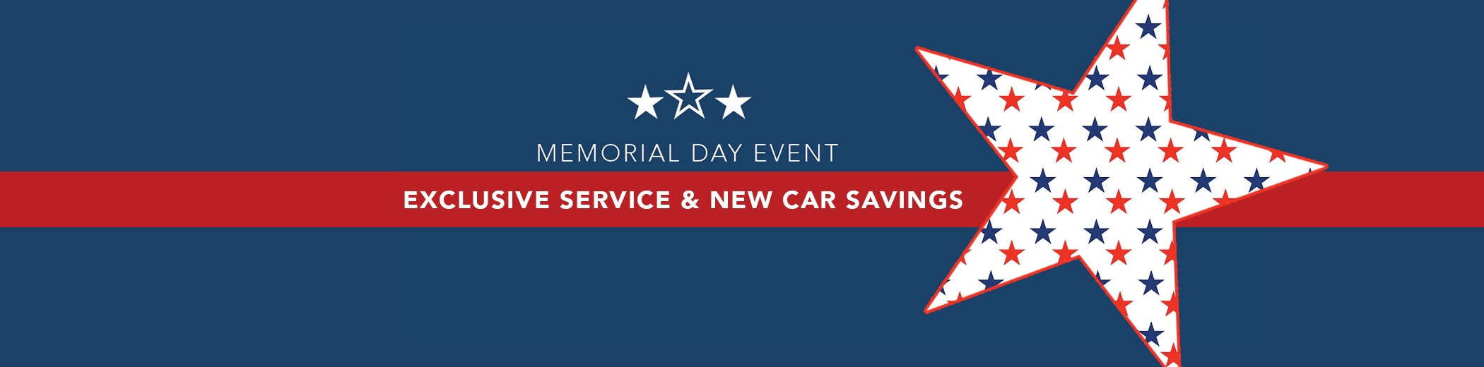 Memorial Day Sales Event on Acura Service and Sales