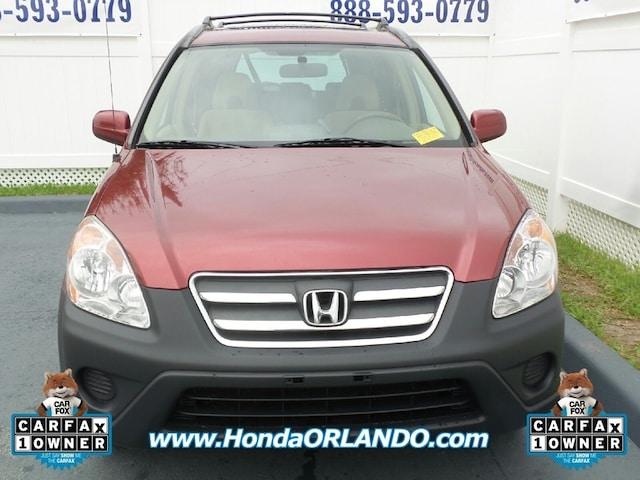 Used 2006 Honda CR-V For Sale at Coggin Honda of Orlando