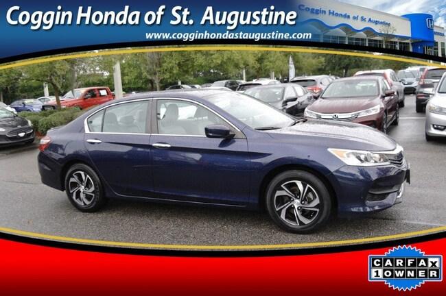 2016 Honda Accord LX w/Honda Sensing Sedan