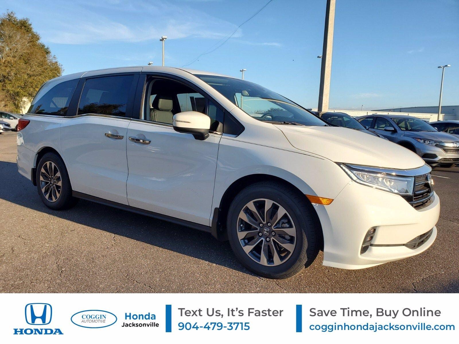 New 2021 Honda Odyssey For Sale At Coggin Honda Jacksonville Vin 5fnrl6h76mb029738