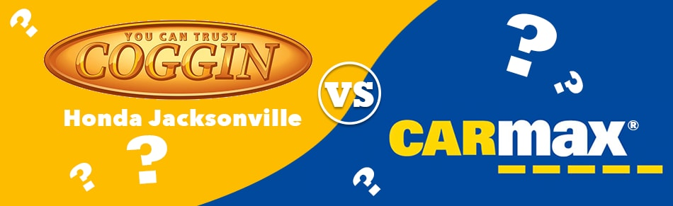 Coggin Vs Carmax Comparison in Jacksonville Beach, Fl
