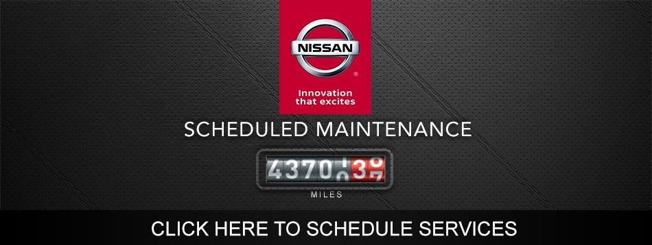 nissan xterra service schedule